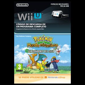 Pokemon Mundo Misterioso Exploradores del Cielo - Wii U