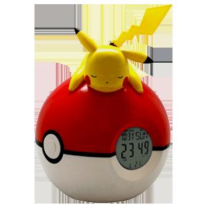 Reloj Despertador Pokemon Pikachu