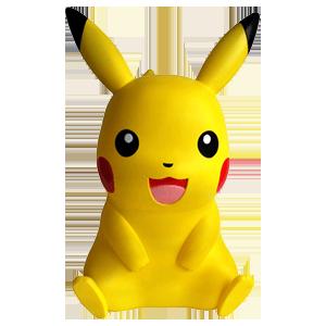Lámpara Pokemon Pikachu 40cm