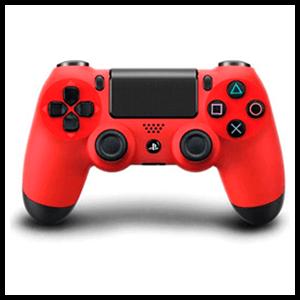 Controller Sony Dualshock 4 Rojo Reacondicionado