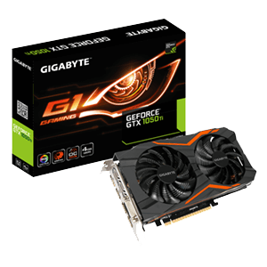 Gigabyte GeForce GTX 1050 Ti G1 4GB GDDR5