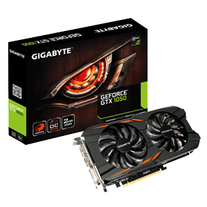 Gigabyte GeForce GTX 1050 WindForce 2GB GDDR5