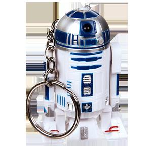 Llavero Star Wars con Luz R2D2