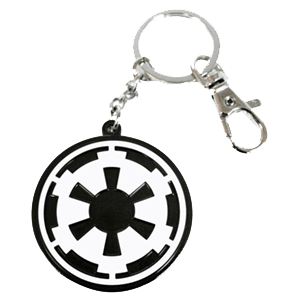 Llavero Logo Star Wars Logo Imperial