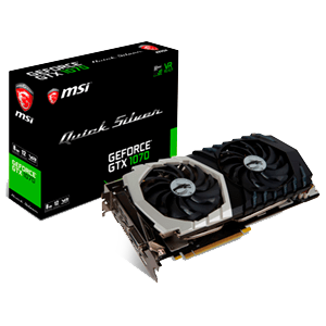 MSI Quicksilver GeForce GTX 1070 8G