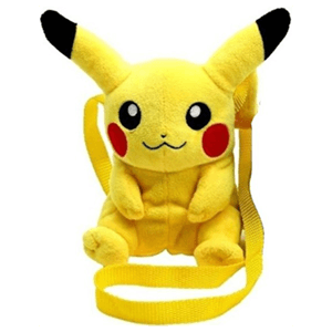 Bandolera Peluche Pokemon Pikachu 20cms