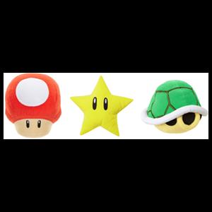 Peluche Super Mario con Sonido 13cm Surtido