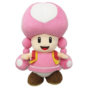 Peluche Super Mario: Toadette 20cm