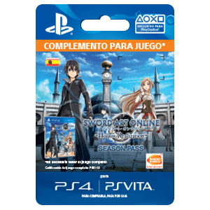 Sword Art Online: Hollow Realization - Season Pass PS4