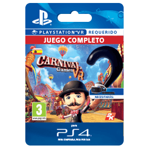 Carnival Games Vr Ps4 Prepagos Game Es