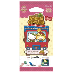 Pack 6 Tarjetas amiibo Animal Crossing - Hello Kitty