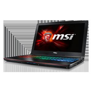 MSI GE62VR 6RF-235XES - i7-6700 - GTX 1060 - 8GB - 1TB HDD + 256GB SSD - 15.6'' - FreeDOS - Apache Pro