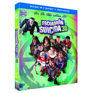 Escuadron Suicida BD 3D