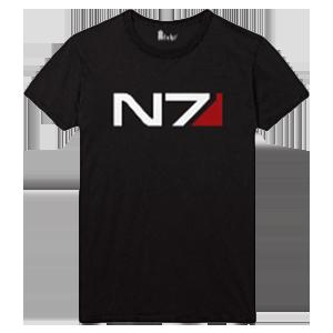 Camiseta Mass Effect Andrómeda: N7 Logo Talla L