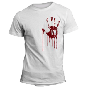 Camiseta Resident Evil VII: Bloody Hand Talla M