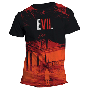 Camiseta Resident Evil VII: Sublimation Orange Talla XL