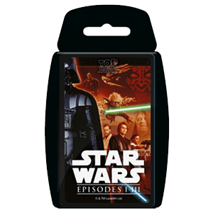 Top Trumps: Star Wars Episodios I-III