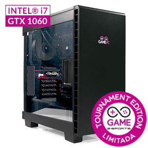 GAMEPC eSports GS10W-TE i7-6700 - GTX 1060 - 16GB - 2TB HDD + 240GB SSD - W10