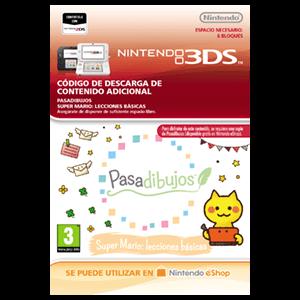 Pasadibujos: Super Mario lecciones básicas - 3DS
