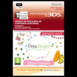 Pasadibujos: Splatoon Cromópolis - 3DS