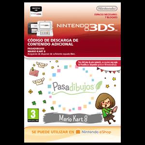 Pasadibujos: Mario Kart 8 - 3DS