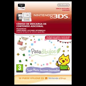 Pasadibujos: Super Mario lecciones intermedias - 3DS