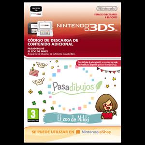 Pasadibujos: El zoo de Nikki - 3DS