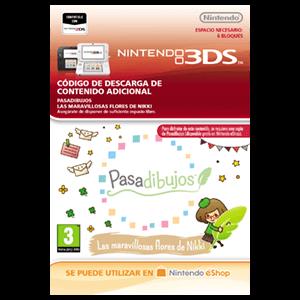 Pasadibujos: Las maravillosas flores de Nikki - 3DS