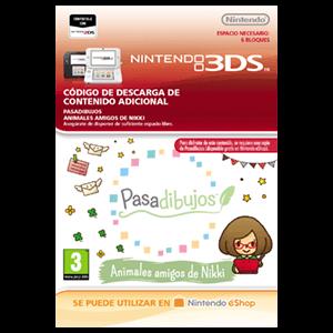 Pasadibujos: Animales amigos de Nikki - 3DS