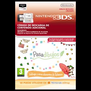 Pasadibujos: Inklings y otros elementos de Splatoon - 3DS