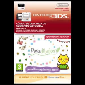 Pasadibujos: Animal Crossing lecciones básicas - 3DS