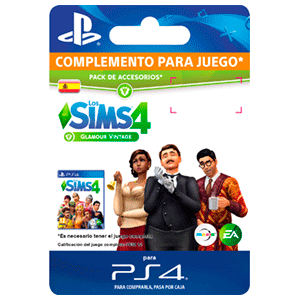 The Sims 4 Glamour Vintage PS4