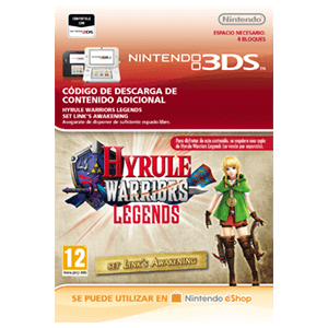 Hyrule Warriors Legends: Set Links Awakening - 3DS