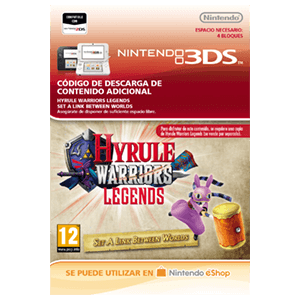 Hyrule Warriors Legends: Set A Link Between Worlds - 3DS