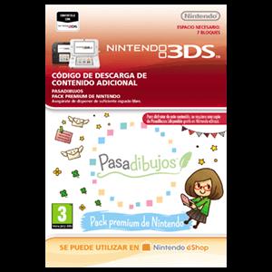 Pasadibujos: Pack premium de Nintendo - 3DS