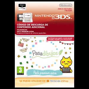 Pasadibujos: Pack premium extra - 3DS