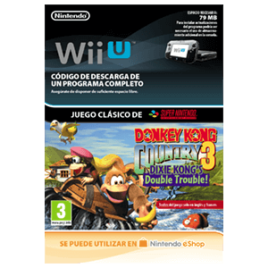 Donkey Kong Country 3: Dixie Kong's Double - Wii U