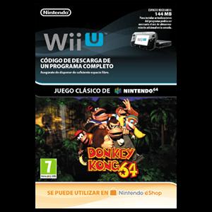 Donkey Kong 64 Wii U Prepagos Game Es