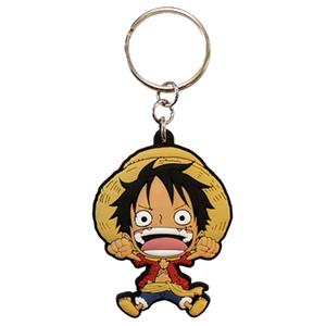 Llavero One Piece: Luffy SD