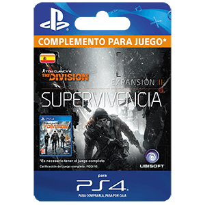 Tom Clancy´s The Division Survival PS4