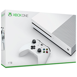 Xbox One S 1TB Blanca
