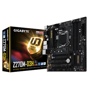 Gigabyte GA-Z270M-D3H SK1151