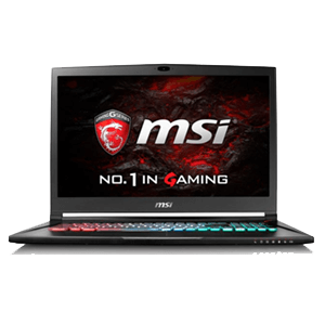 MSI GS73VR 7RF(STEALTH PRO) 228ES I77700 HQ - 1060 6 GB -16GB-512 SSD  -2TB HDD