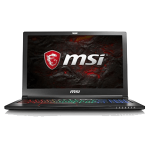 MSI GS63VR 7RF(Stealth Pro) 232ES I7 7700 HQ -1060 6 GB-16 GB-512 SSD -2TB HDD