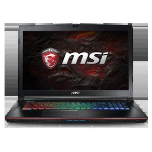 MSI GE72VR 7RF-286ES - i7-7700 - GTX 1060 - Apache Pro