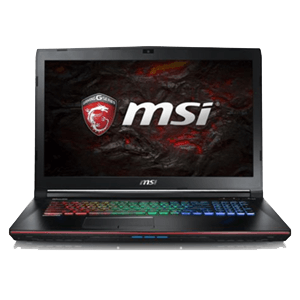 MSI GE72 7RE(Apache Pro)-082ES 1050TI4GB-I7 7700HQ-16GB-256GB-1TBHDD