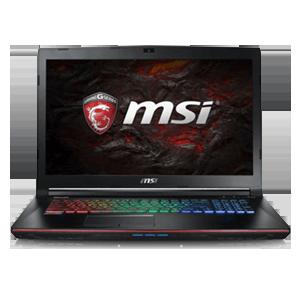 MSI GE72 7RD(Apache)083ES 10504GB-I7 7700HQ-16GB-256SSD-1TB HDD