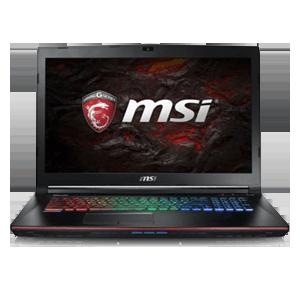 MSI GE72 7RD(Apache) 085XES 10504GB I7 7700HQ-16GB-256SSD-1TB HDD