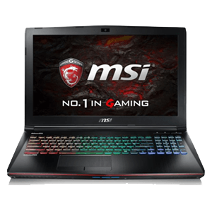 MSI GE62 7RE(Apache Pro) 213ES 10504GB- I7 7700HQ-16GB-256GBSSD-1TB