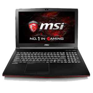 MSI GP62M 7RD-268XES - i7-7700 - GTX 1050 - 16GB - 1TB HDD - 15.6'' - FreeDOS - Leopard